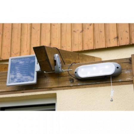 Solární nástěnné světlo, 5 LED diod