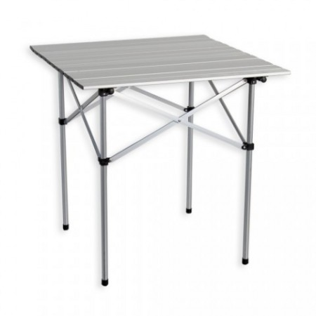 Hliníkový kempinkový skládací stůl 70 x 70 cm