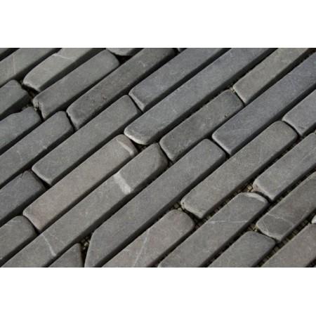 Obklad / dlažba - mozaika šedý mramor, 1 m2