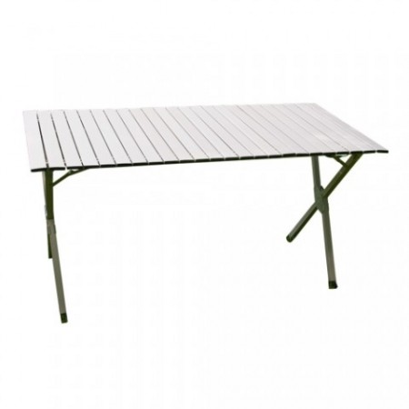 Obdélníkový kempinkový skládací stůl 141x70 cm
