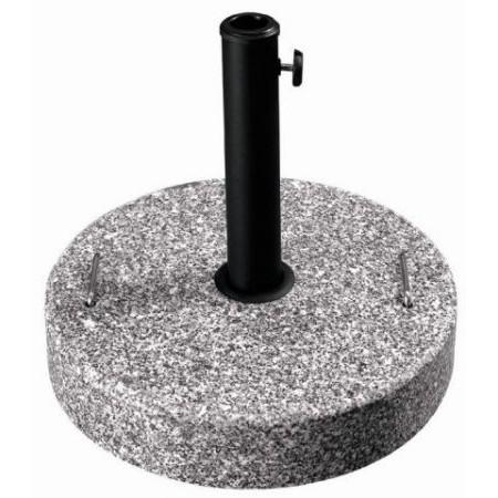 Kruhový podstavec pod slunečník, granit, 25 kg