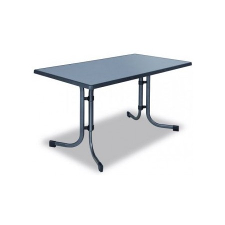 Obdélníkový gastro stůl kovový, horní deska sevelit