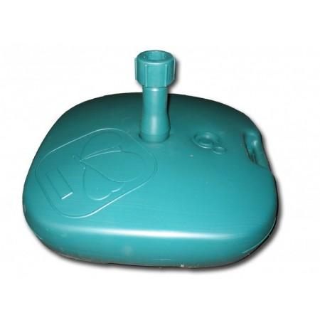 Levný plastový stojan na slunečník 15 l, plnitelný vodou, nebo pískem