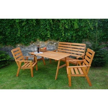 Zahradní nábytek z masivu - borovicové dřevo impregnované