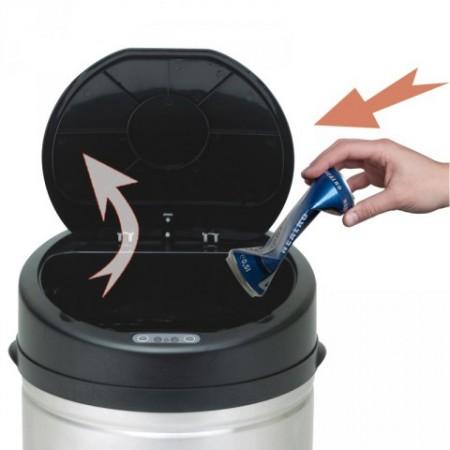 Moderní bezdotykový odpadkový koš s čidlem 30 l