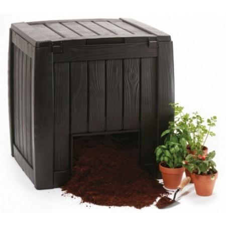 Plastový zahradní kompostér s dvířky 340L
