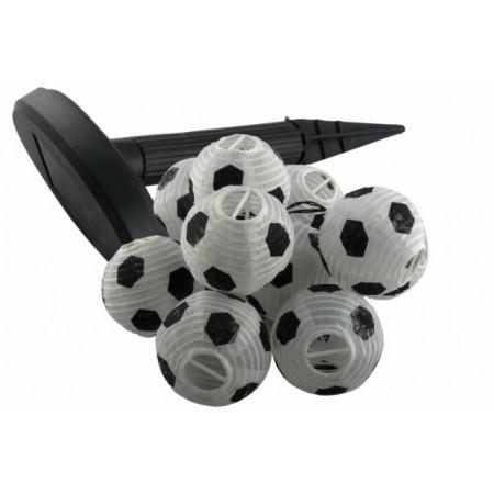 Solární zahradní osvětlení - lampiony ve tvaru fotbalových míčů