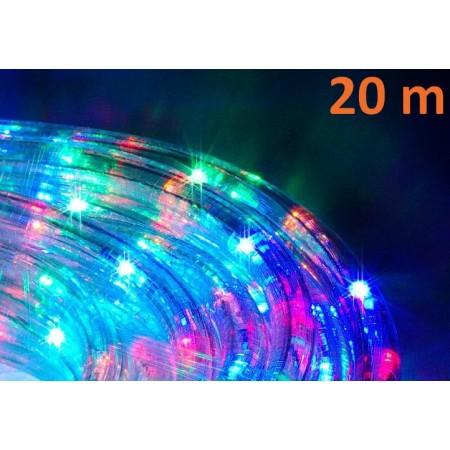 Barevný světelný kabel venkovní / vnitřní, na párty i na vánoce, 20 m