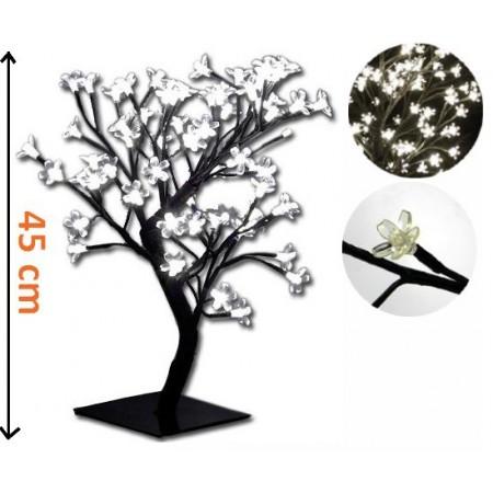 Dekorativní osvětlení do bytu i na zahradu - strom s květy 45 cm