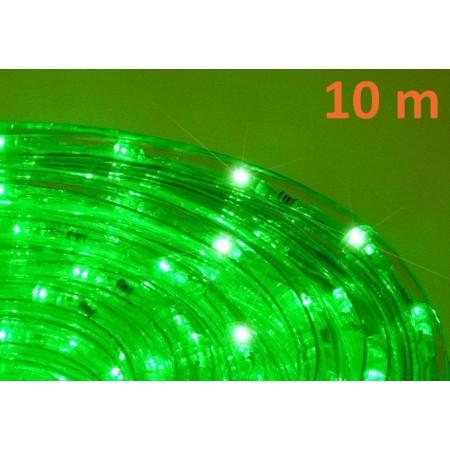 Světelný kabel s LED diodami venkovní / vnitřní, zelená, 10 m