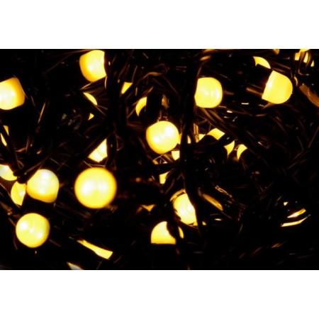 Vánoční osvětlení s MAXI LED diodami venkovní / vnitřní, teple bílá, 20 m