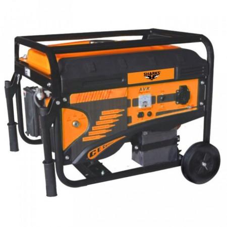 Benzinový generátor 230/380 V, 3000W
