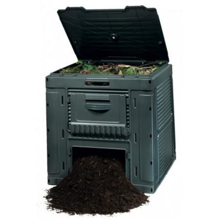 Skládací zahradní kompostér s dvířky, včetně podstavce