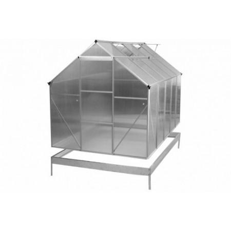 Skleník z polykarbonátu 311 x 190 x 195 cm - automaticky otevíraná okna