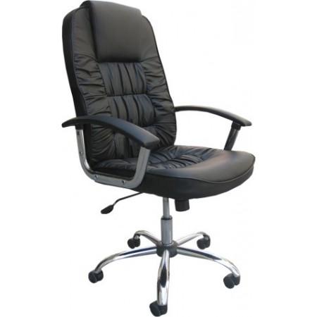 Luxusní otočné kancelářské křeslo - vysoké polstrování