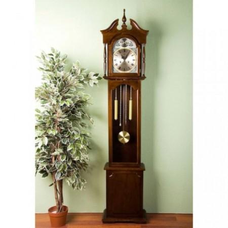 Kyvadlové hodiny - pendlovky, mahagonové dřevo, 196 cm