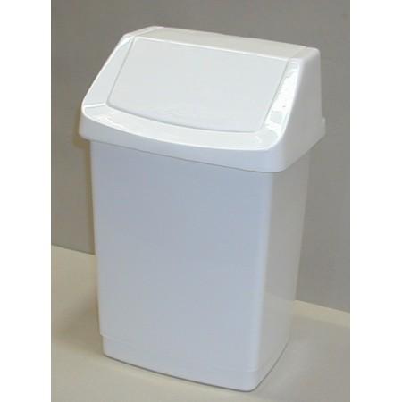 Klasický plastový odpadkový koš s víkem 15 l