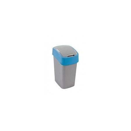 Plastový odpadkový koš 10 l, 2 stupně otevření víka