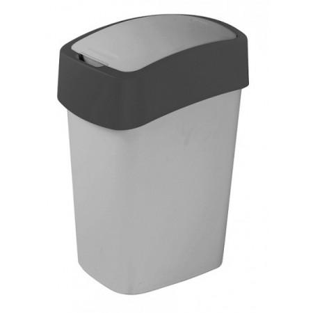 Plastový odpadkový koš, 2 stupně otevření víka, 25 l