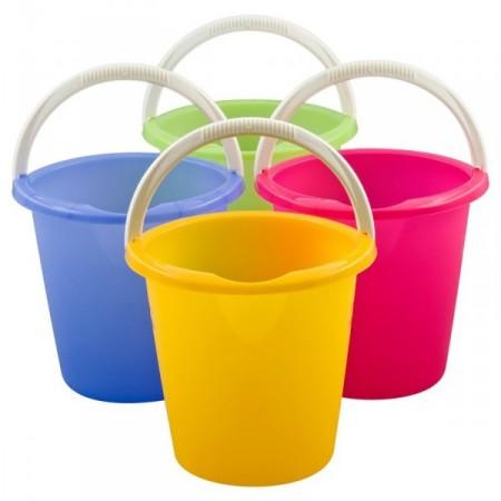 Plastový kbelík s držadlem 10 l -různé barvy