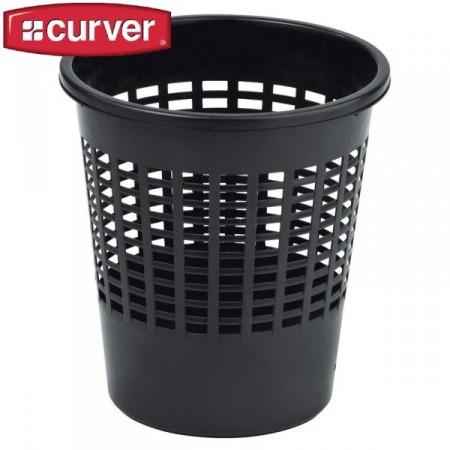 Odpadkový koš na papír 11 l, černý
