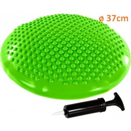 Masážní a rehabilitační polštář 37 cm, zelený