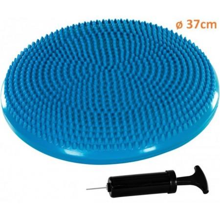 Masážní a rehabilitační polštář na židli 37 cm, modrý