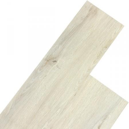 Vinylová plovoucí podlaha, dřevodekor - bílý dub, 5,07 m2
