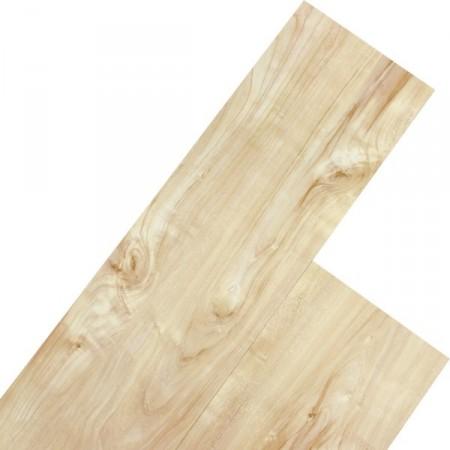 Vinylová plovoucí podlaha, dřevodekor - kafrové dřevo krémové, 5,07 m2