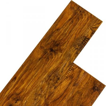 Vinylová plovoucí podlaha, dřevodekor - červenohnědý ořech, 5,07 m2
