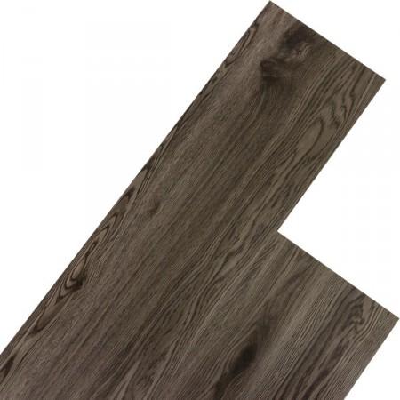 Vinylová plovoucí podlaha, dřevodekor - dub tmavě šedý, 5,07 m2
