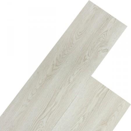 Vinylová plovoucí podlaha, dřevodekor - bílá, 5,07 m2