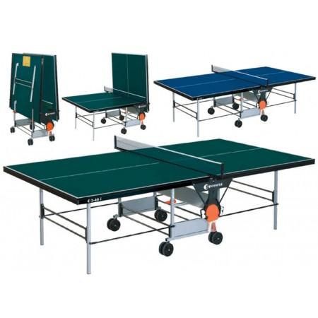 Pingpongový stůl vnitřní 274x152,5x76 cm, zelený