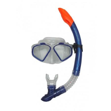 Potápěčské brýle se šnorchlem - s krytkou proti vodě, seniorské