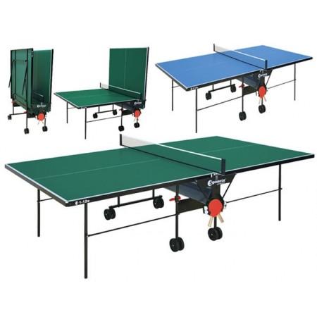 Stůl na stolní tenis venkovní, pozinkovaný rám, plastová deska,  274 x 152,5 x 76cm