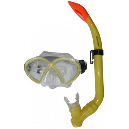 Dětská potápěčská sada, brýle + šnorchl, žlutá