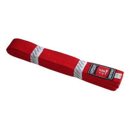 Pásek ke kimonu - červený