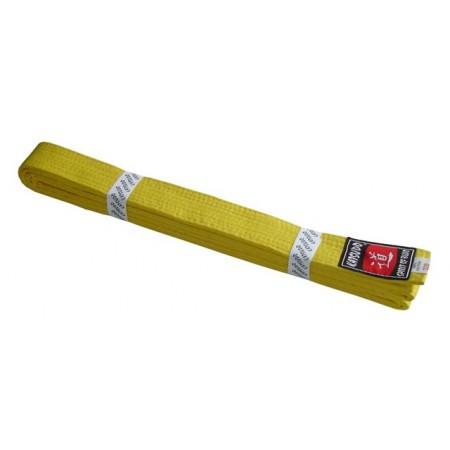 Pásek ke kimonu - žlutý