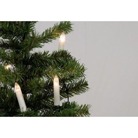 Vánoční svíčky s 30 LED diodami, 30 ks, 15 m
