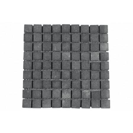 Dlažba / obklad - mozaika z šedého mramoru, 1 m2
