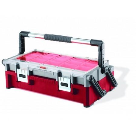 Kufr na nářadí a spojovací materiál, 2 organizéry