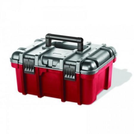 Kufr na nářadí a spojovací materiál Keter s držadlem