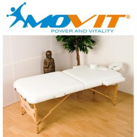 Masážní stůl- robustní rám ze dřeva, 211x185x102