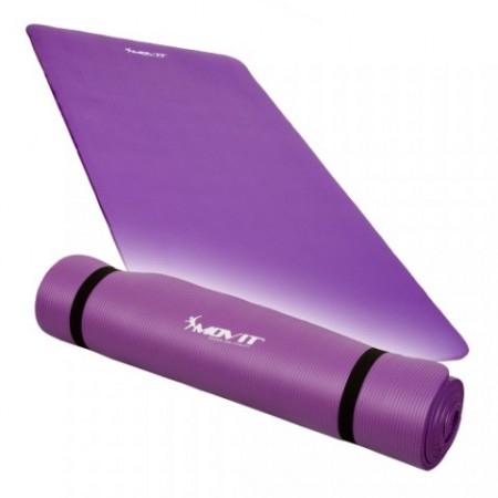 Gymnastická podložka fialová na jógu a cvičení, 190 x 60 x 1,5 cm