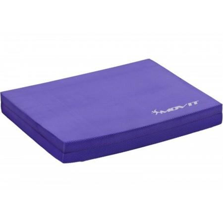 Balanční podložka pro fitness a cvičení, fialová