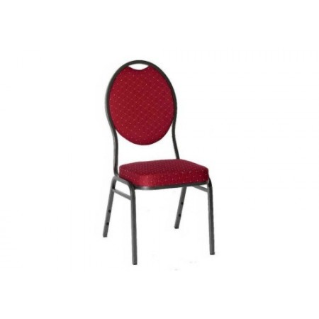 Stohovatelná kovová židle Monza