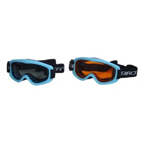 Dětské lyžařské brýle, antifog úprava, modré