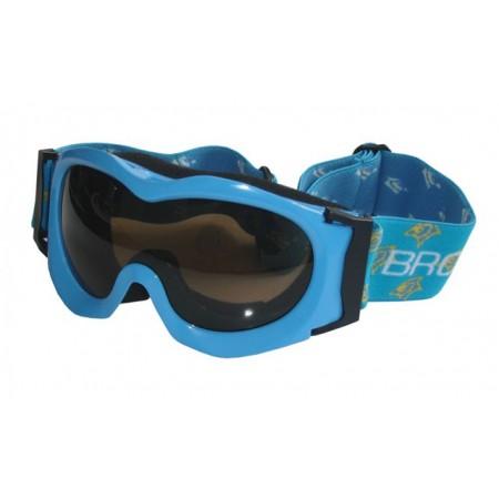 Juniorské lyžařské brýle, antifog, UV filter, modré