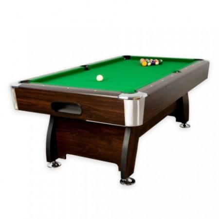 Velký kulečníkový stůl 8 ft zelený, včetně příslušenství