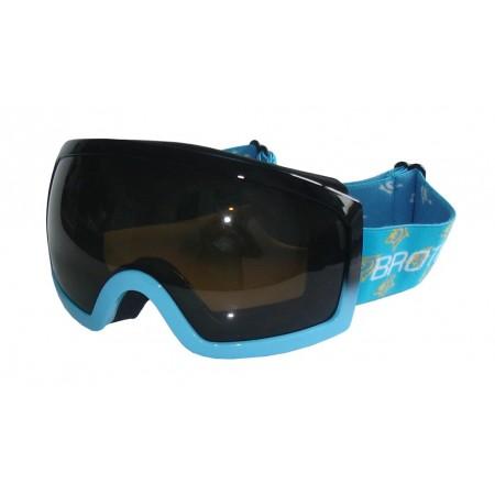 Lyžařské brýle pro dospělé, antifog, UV filtr, modré